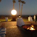 Sunset cocktails at Ocean Villa