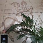 Wall's decor near SPA-zone