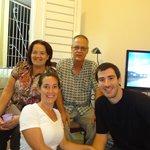 Con Hilda y Alejandro