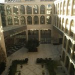 View over the inner courtyard