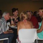 Friends enjoying an evening at Locos