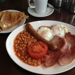 Cooked breakfast available all day