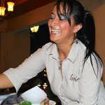 Milena - the best server on the island
