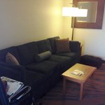 Fold out couch area