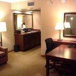 Desk / work area in room