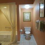 Suite 519 nice bathroom