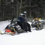 Snowmobiling with Northern NH Snowmobile Tours