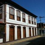 Uma pousada em um casarão histórico de Pitangui, preserva toda a arquitetura interna e externa.