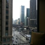 Wacker and Chicago River daytime