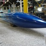Blue Flame (fuhr 1970 über 1000 km/h).
