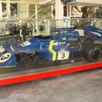 Der legendäre 6rädrige P34 F1-Bollide von Tyrrell aus 1976.