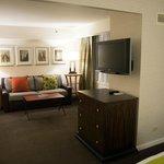 Room 2606, living room