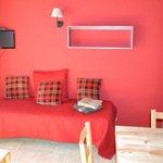 lit canapé rez de chaussée duplex 7 pers 60 m2
