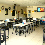 Enjoy a relaxed meal in the Cafe