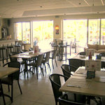 Dine in or on our terrace