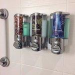 Bathroom dispensers