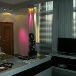 elegante Beleuchtung Deluxe Zimmer