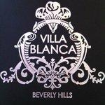 Villa Blanca menu