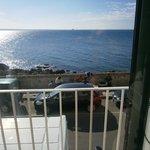 il balcone, il mare