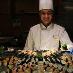 Sushi bis zum Abwinken!