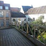Balcony of room 105