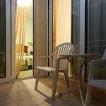 La stanza - balcone