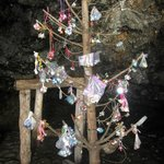 Dummy tree in the cave of the Giantess