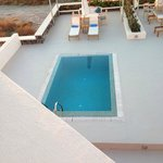 Our Private pool from our room