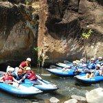 Le Club des 5 dans la Canon de la Vieja - Guanacaste - Costa Rica