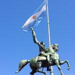 San Martin statue (Casa Rosada plaza)