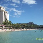 Aston Waikiki Beach Hotel from our ocean view