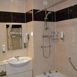 very nice Irish bath facilities
