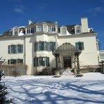 Spadina House in Winter