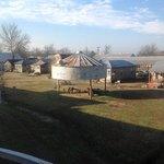 the huts and shacks