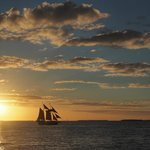 Scene from Sebago Sunset Cruise