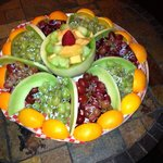 Fruit catering plate