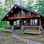 One of our cozy cabin rentals