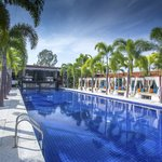 Main Pool with cabanas
