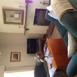Lounge looking towards front of cottage