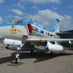Former Blue Angels Plane