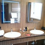 Lochy Suite Double Sink Area