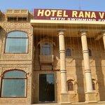 Hotel Rana Villa's Front Look