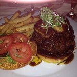 Wagyu fois gras burger...rich and delicious!