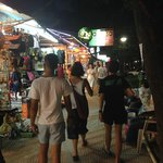 Markets and tours of walking distance