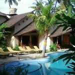 The Pool side bungalow