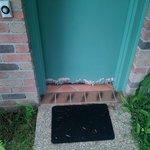 In need of some maintenance door to room.