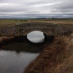 Bridge on the road from Beadnell to Bamburgh