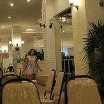 Ресторанчик в отеле, где подают завтраки