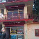 The cafe at Lal Tibba - May be the only attraction there!