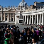 san pietro square crowded in march '14